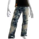 KKZ Bleached Blue Designer Jeans