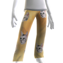 Epic Laser Cat Gold PJ Bottom