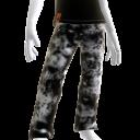 KKZ Bleached Black Designer Jeans