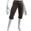 Pantalones y cinturón de piel