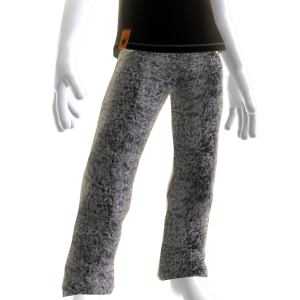 Black Stonewashed Acid Designer Jeans