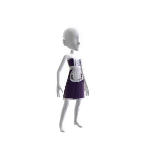 Anime Maids Outfit Purple