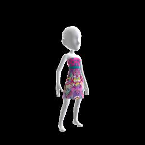 Designer Sweet Print Dress