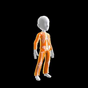Halloween Skull Suit Org Chrme