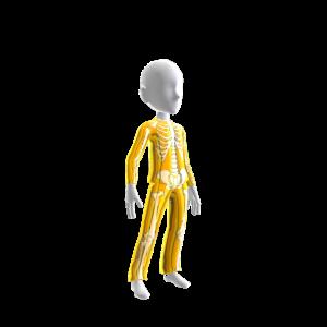 Epic Gold Chrm Skeleton Suit