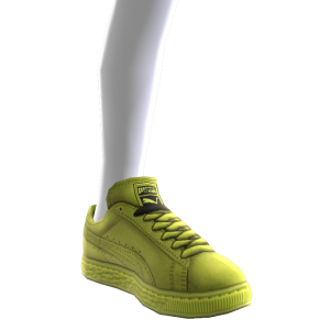 Suede Classic - Lime Punch
