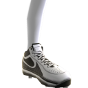 Baseball Cleats - White