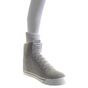 Grey and White Skytop