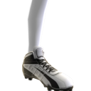 Football Cleats - White/Black
