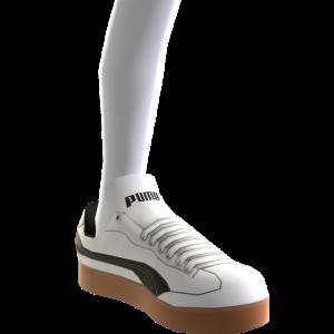 Liga Leather - White