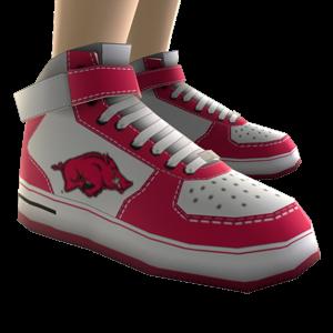 Arkansas High Top Shoes