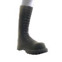Botas negras de cordones