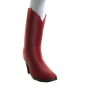 Bottes cow-girl - rouges