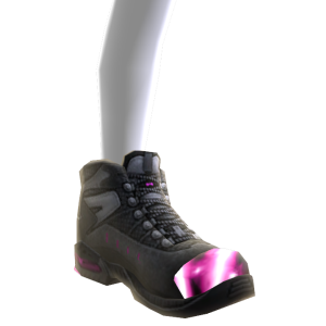 Battle Boots - Pink Black