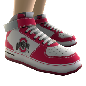Ohio State High Top Shoes