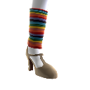 Regenbogen-Stulpen