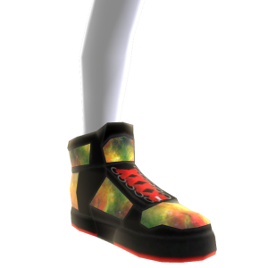 Rasta Galaxy Shoes