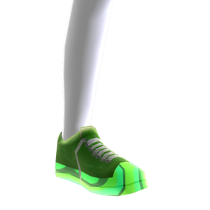 Epic Green Shoes Green Chrome Body