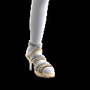 Metallic-Sandalen
