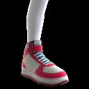 High-Top-Schuhe von LA Clippers