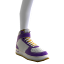 LA Lakers High Top Shoes