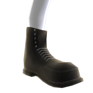 Unlaced Combat Boots