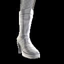 Glänzende Stiefel