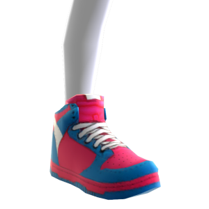 Sneakers - Blue and Red