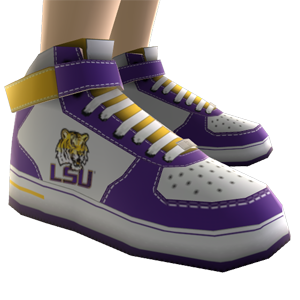 LSU High Top Shoes