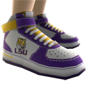LSU High Top Shoes