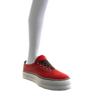 Classic Sneakers - Red