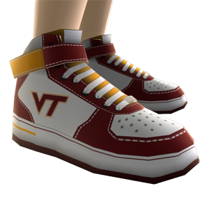 Virginia Tech High Top Shoes