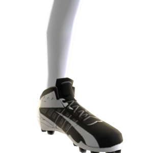 Football Cleats - Black/White