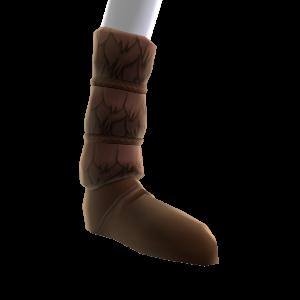 山の民のブーツ
