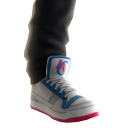 Clippers Sneakers and Jeans