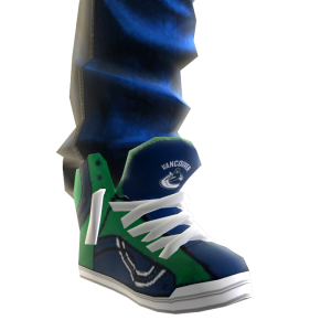 Canucks Jeans and Sneakers