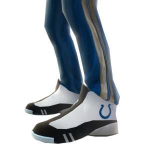 Indianapolis Track Pants and Sneakers