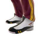Cavaliers Track Pants and Sneakers