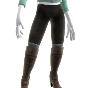 Sherry's Leggings & boots