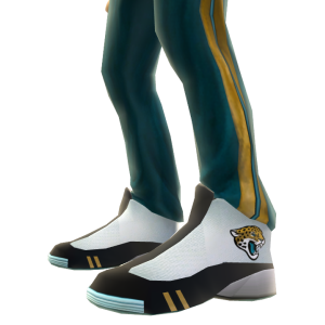 Jacksonville Track Pants and Sneakers
