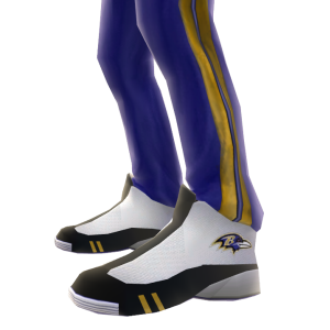 Baltimore Track Pants and Sneakers