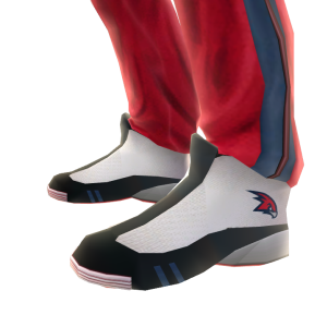 Hawks Track Pants and Sneakers