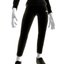 Black Calculated Leggings