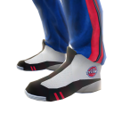 Pistons Track Pants and Sneakers