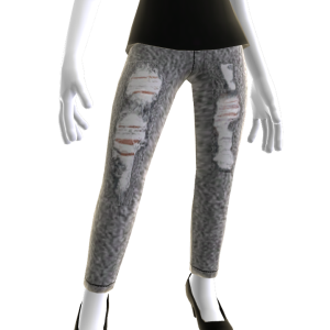 Skinny Stonewash Acid Jeans