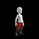 Pantalones y botas de pirata
