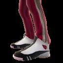 Arizona Track Pants and Sneakers