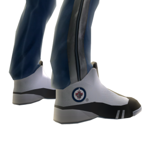 Jets Track Pants and Sneakers