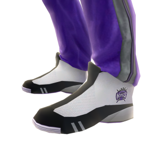 Kings Track Pants and Sneakers