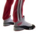 Red Wings Track Pants and Sneakers